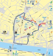 Mapa pochodu